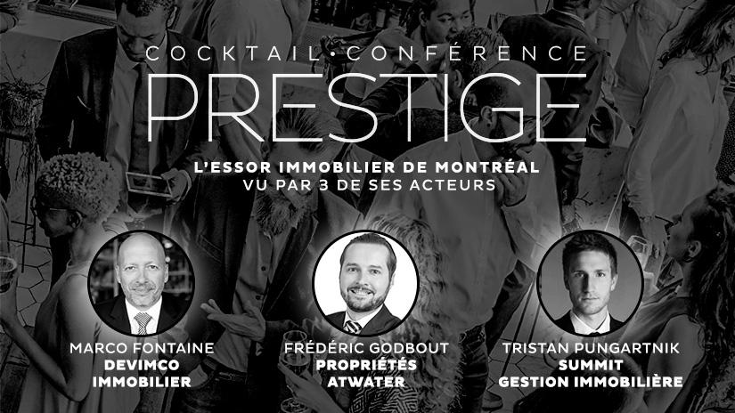 Cocktail-conférence Prestige