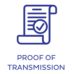 Proof of transmission