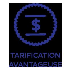 Tarification avantageuse