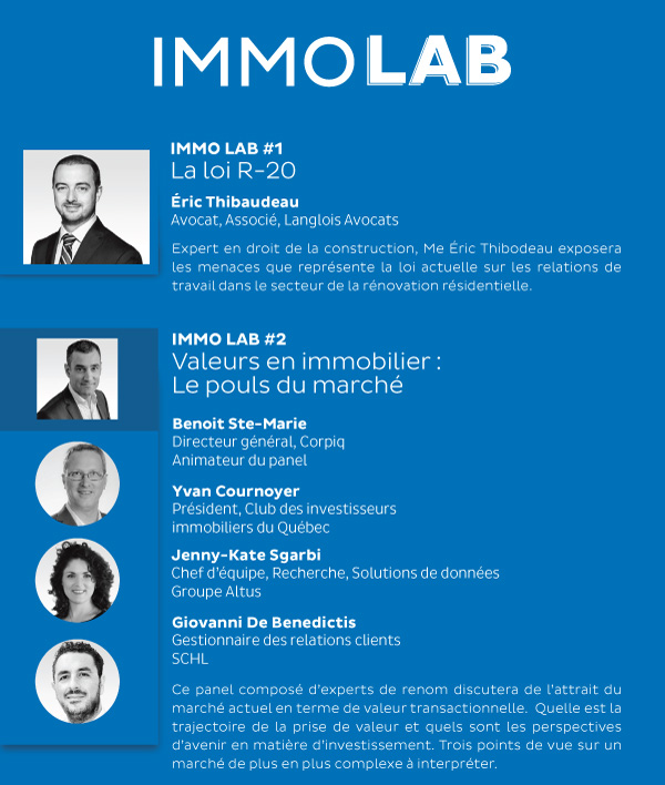 Conférenciers Lab Immo2019